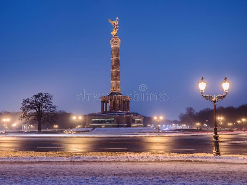 Victory Column em Berlim imagens de stock royalty free