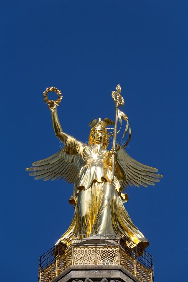 Victory Column em Berlim (Siegessaeule) imagens de stock royalty free