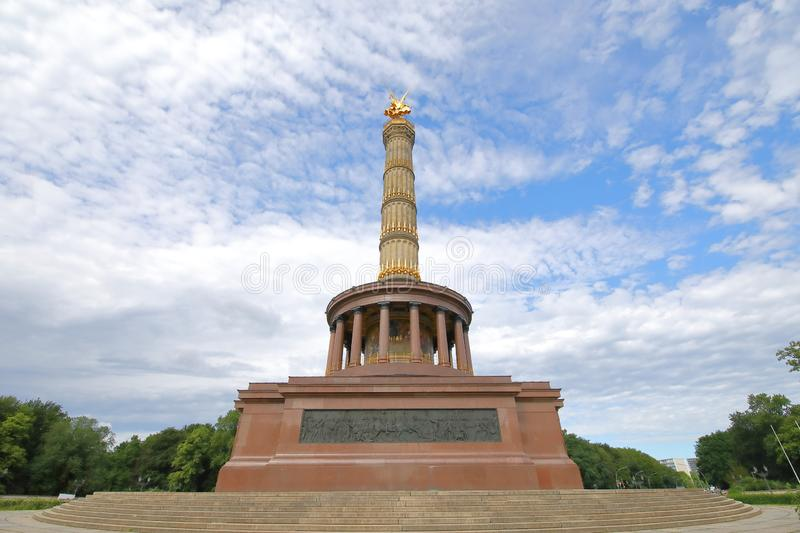 Victory Column historical monument tower Berlin Germany. Victory Column historical monument tower in Berlin Germany stock photos