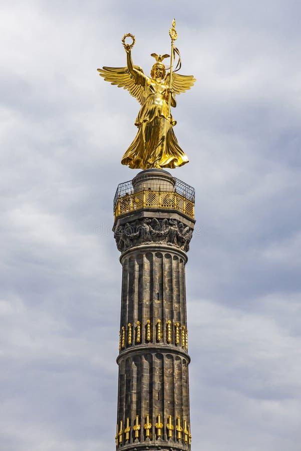Victory Column Siegessaeule à Berlin, Allemagne photo libre de droits