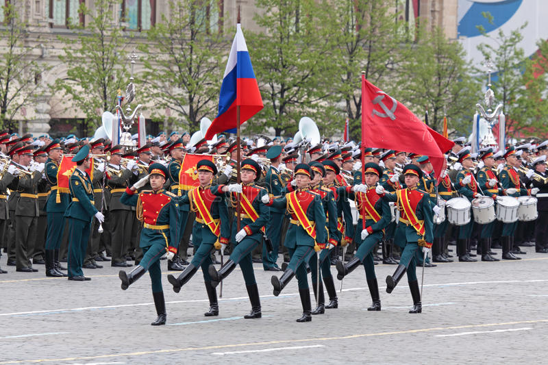 Download Victory Day 2011 editorial stock photo. Image of soldiery - 19479028