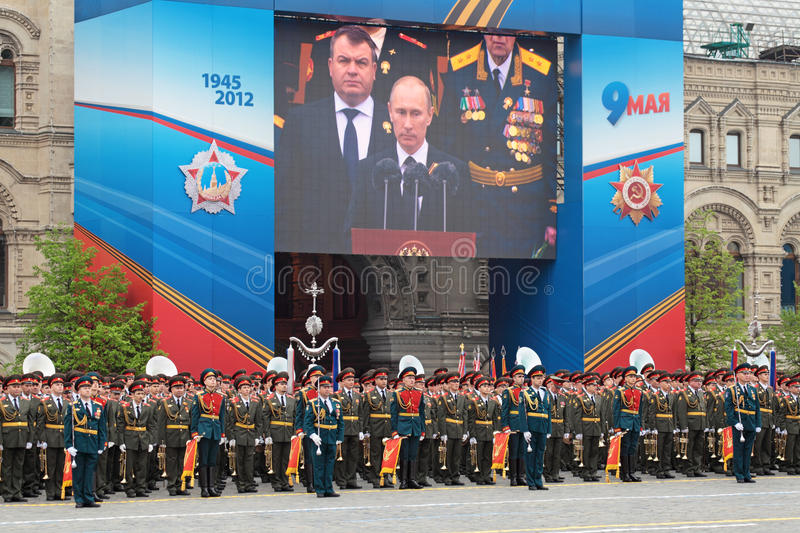 Download Victory Day 2012 editorial image. Image of private, order - 24936325