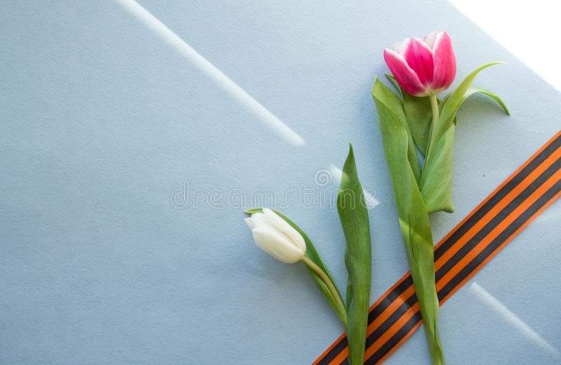 Victory day- 9 may stock image