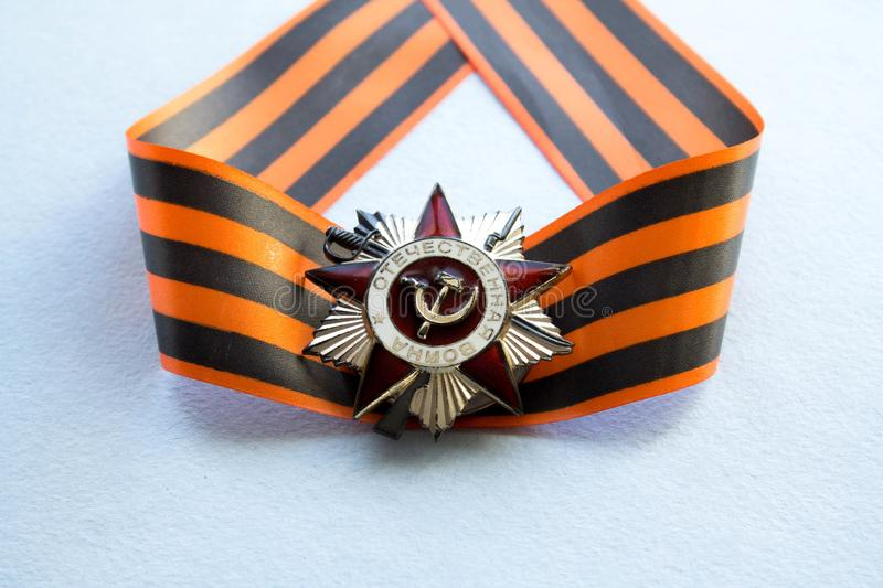Victory day - 9 May stock images