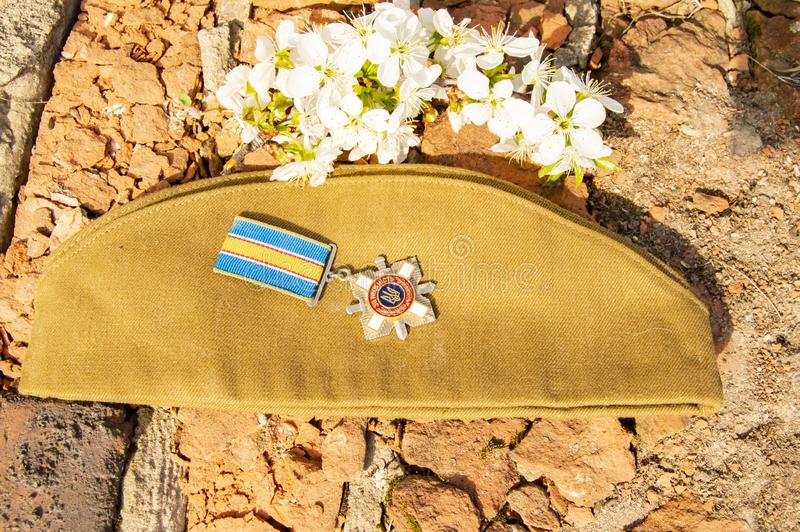 Victory Day in World War II royalty free stock photo