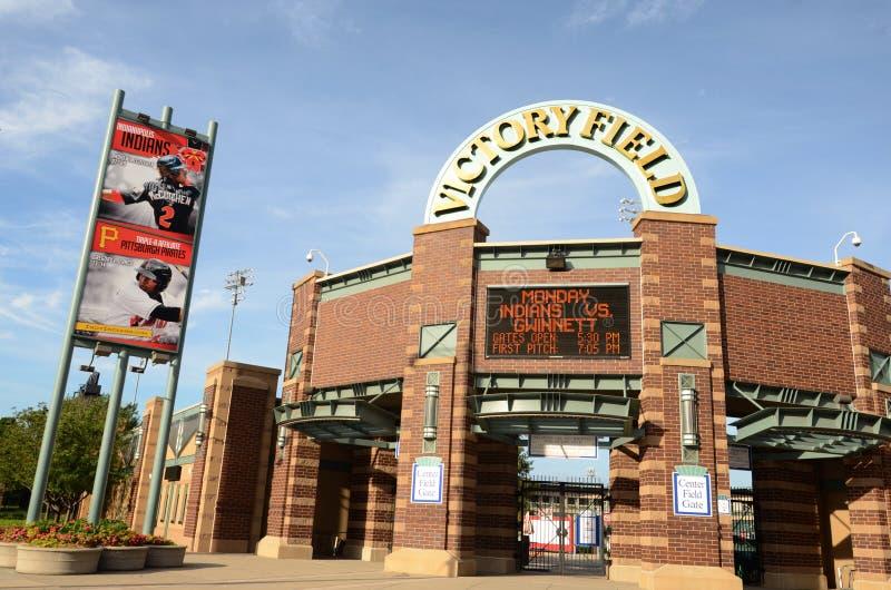 Victory Field, Indianapolis fotografie stock libere da diritti