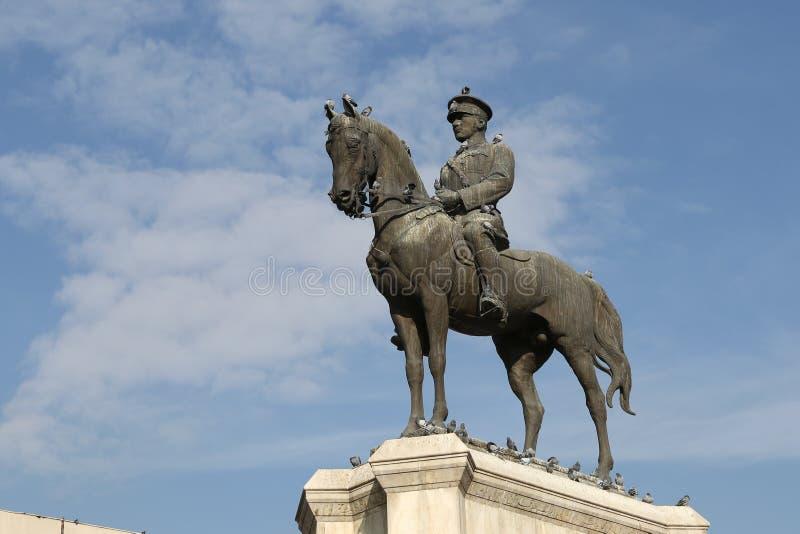 Victory Monument in Ankara. Ulus Victory Monument in Ankara City, Turkey royalty free stock photos