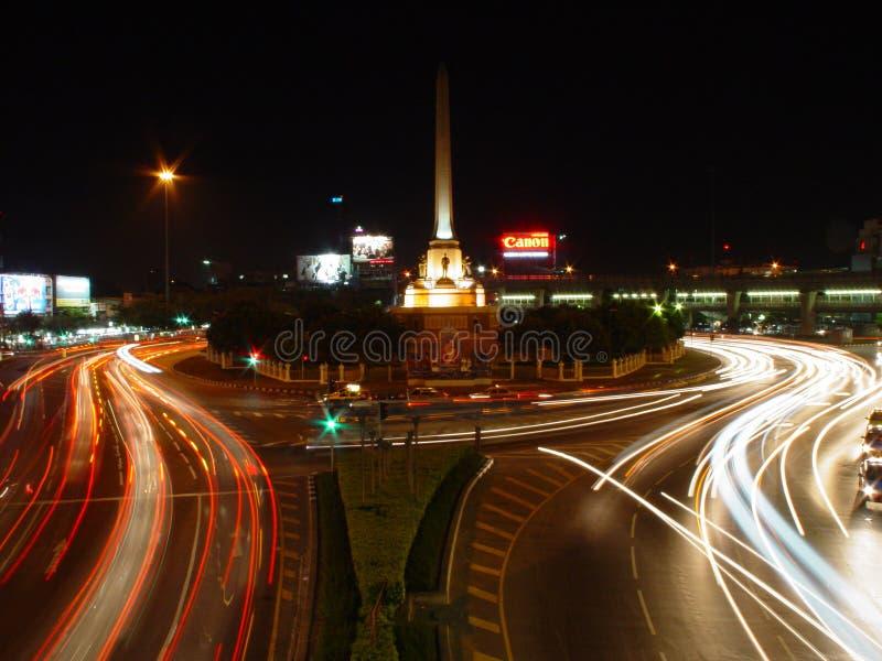 Victory Monument, Bangkok. stock images