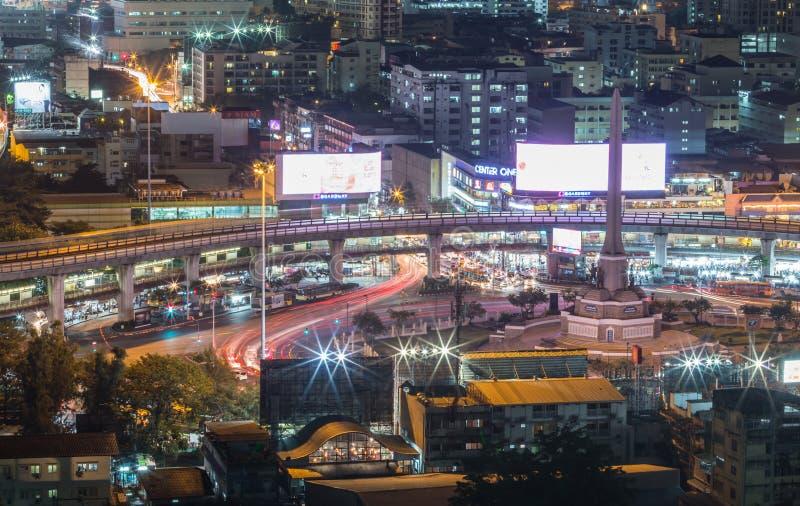 Victory Monument, Bangkok, Thailand lizenzfreies stockfoto