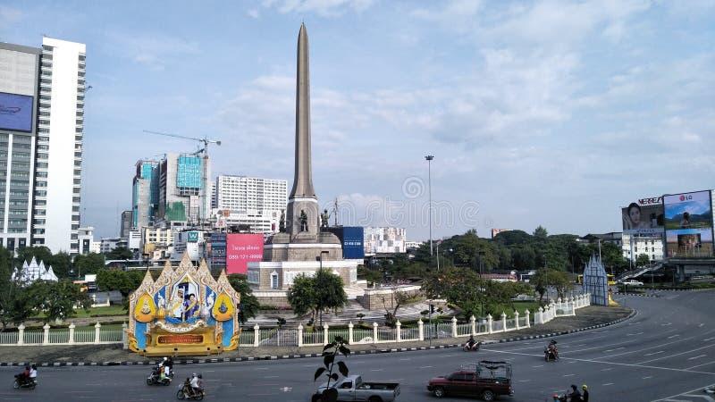 Victory monument stock photo