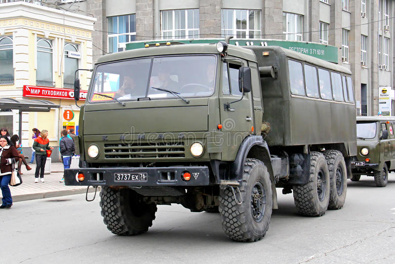 Victory Parade 2014 à Iekaterinbourg, Russie photographie stock