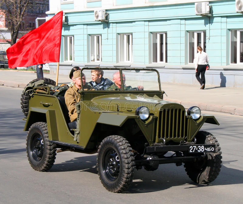 Download Victory Parade 2009 editorial image. Image of automobile - 22418495