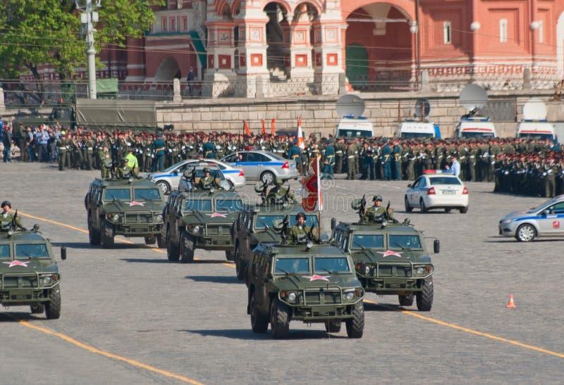 Victory parade rehearsal: GAZ-2330