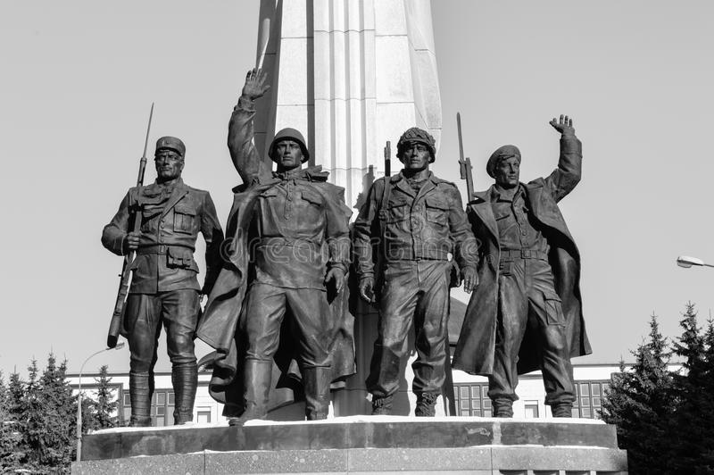 Victory Park arkivfoto