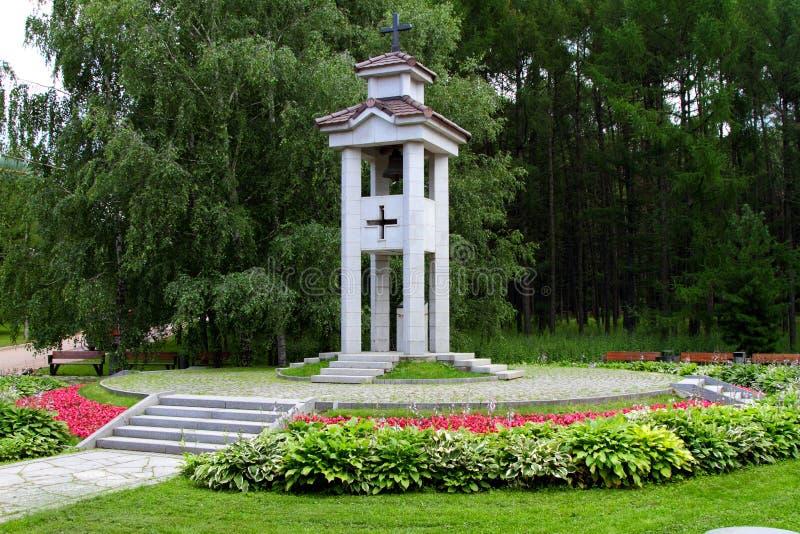 Victory Park a Mosca Monumento agli spagnoli, che sono morto in W fotografia stock