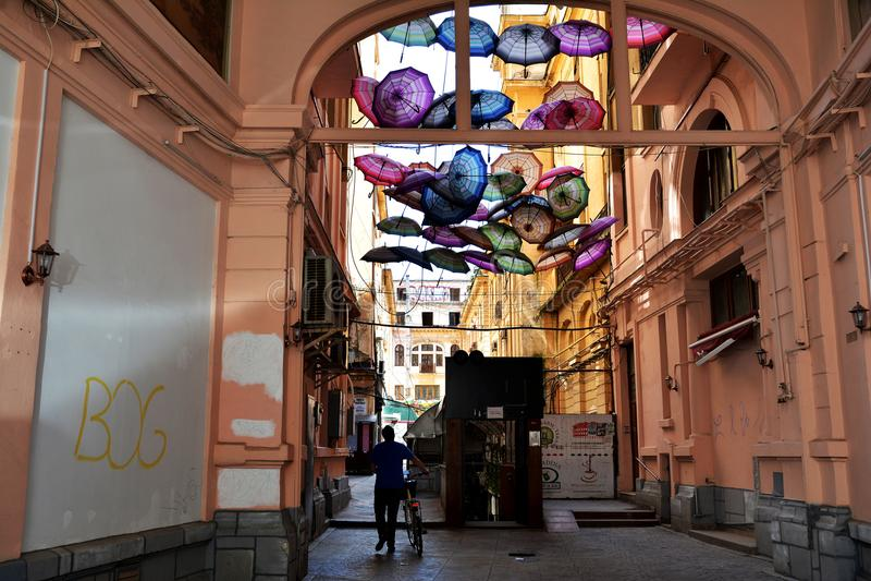 Victory Passage, Bucarest, Roumanie images stock
