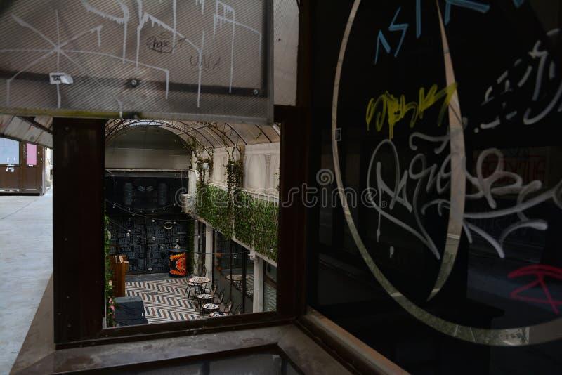 Victory Passage, Bucarest, Roumanie images libres de droits