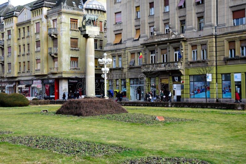 Victory Square Piata Victoriei royalty-vrije stock foto