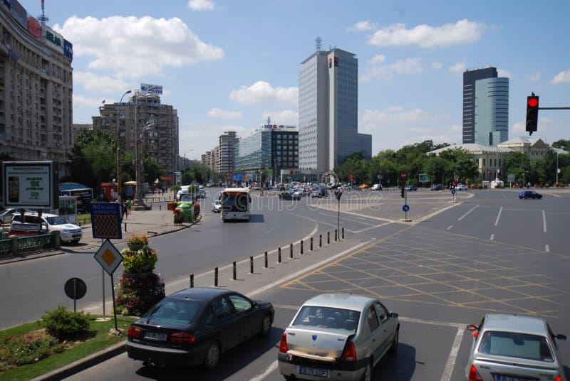 Victory Square, zone métropolitaine, voiture, véhicule de terre, zone urbaine image libre de droits