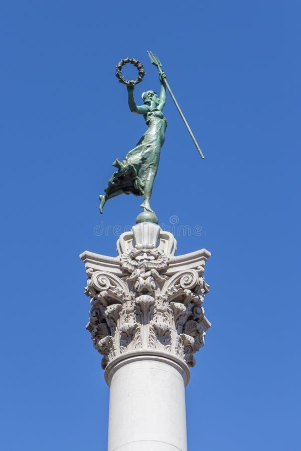 Victory Statue in Union Square, San Francisco, Californië stock foto's