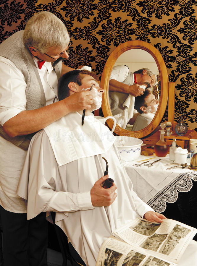 Download Victrorian shave stock image. Image of past, haircut - 21120931