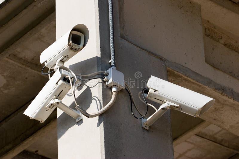 vidéo de surveillance images stock