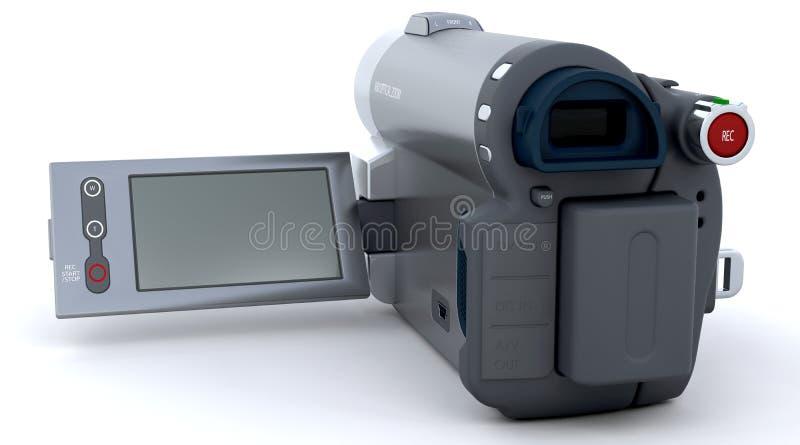 vidéo digital d'appareil-photo illustration libre de droits