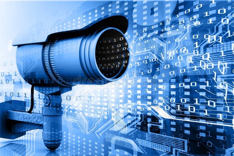 Vidéo surveillance illustration stock