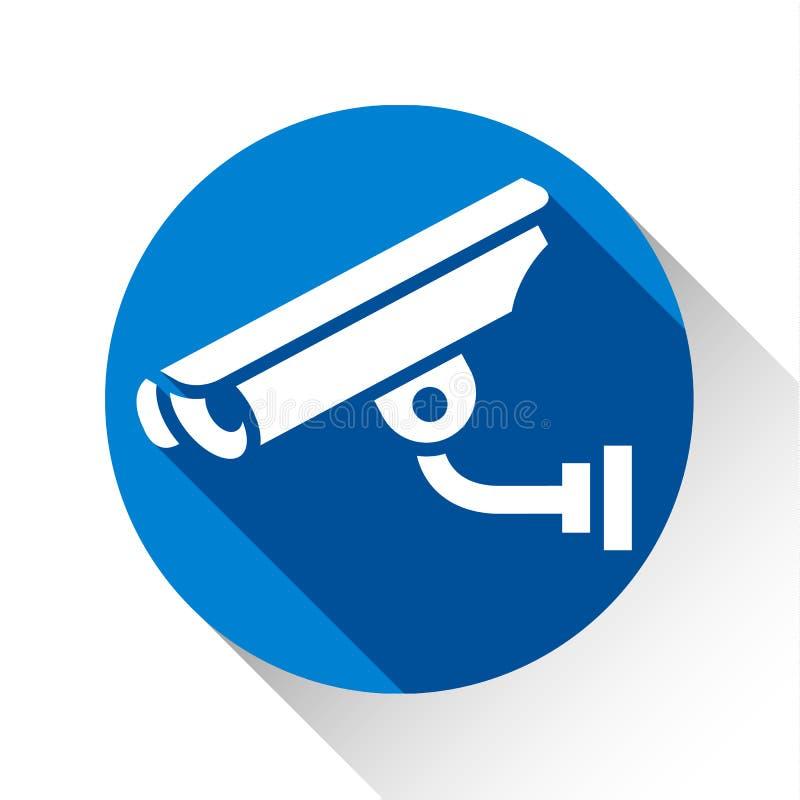 Vidéo surveillance visuelle illustration de vecteur