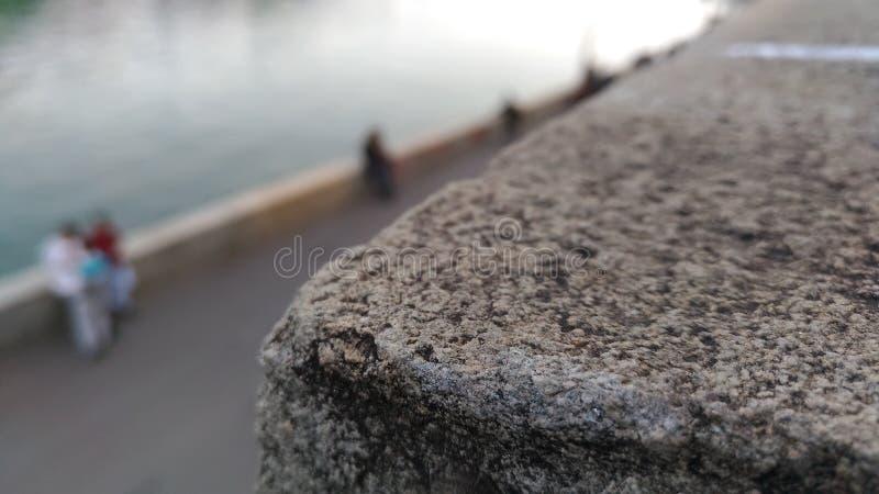 Vid floden arkivfoton