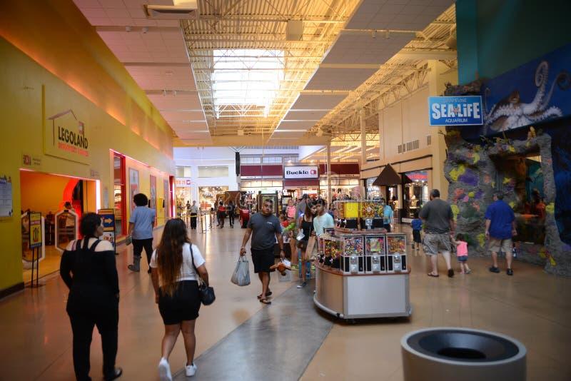 Vid Mills Mall, vid Tejas fotografía de archivo libre de regalías