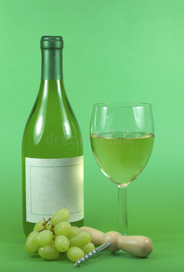 Vida #1 do vinho branco ainda fotos de stock royalty free