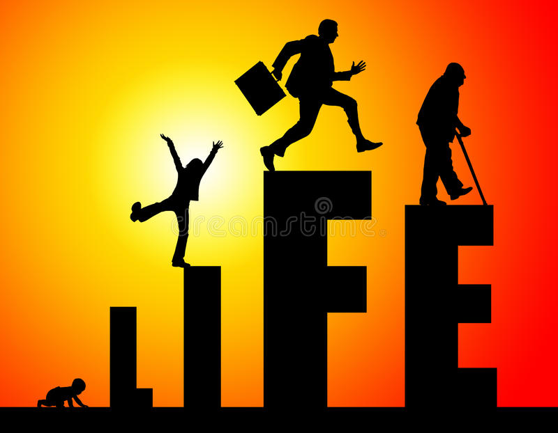 vida ilustração royalty free