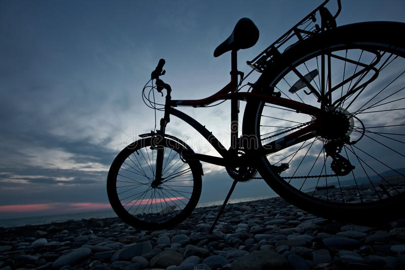 Vida da bicicleta fotografia de stock