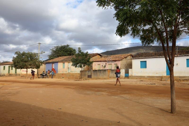 Vida da vila em Brasil em Petrolina foto de stock royalty free