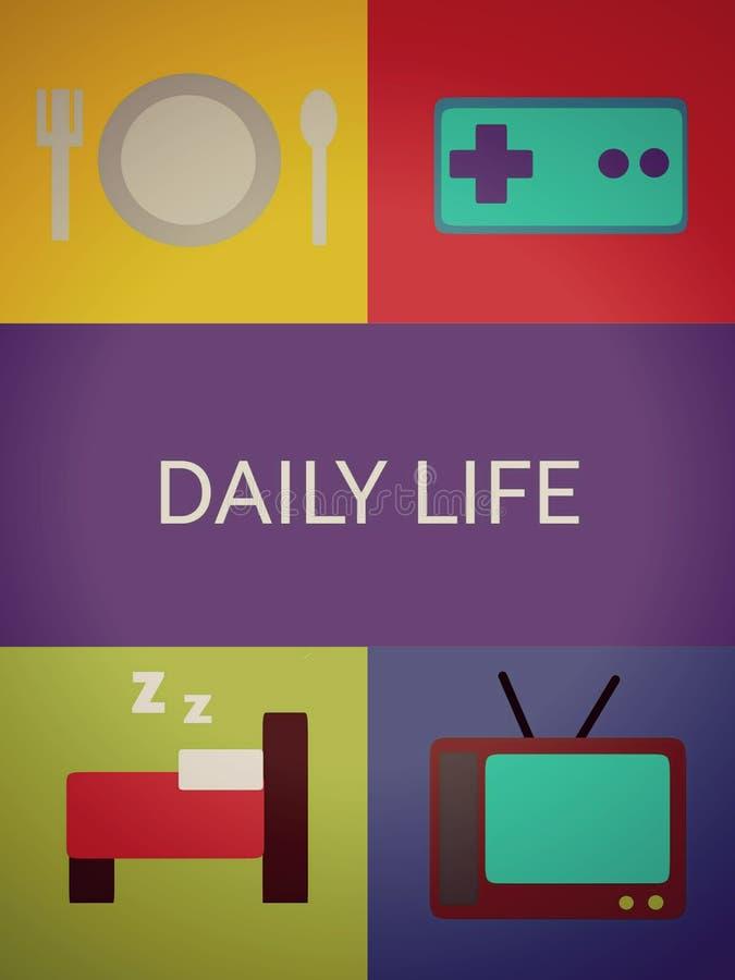 Vida de cada día foto de archivo