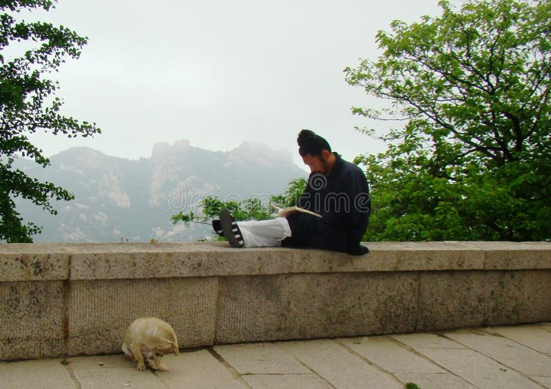 Vida de cada día de Daoist fotografía de archivo