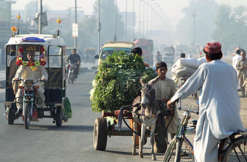 Vida de cada día de Paquistán fotografía de archivo libre de regalías
