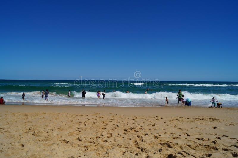 Vida de la playa del verano fotos de archivo