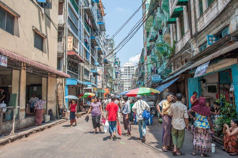 Vida de Myanmar imagem de stock