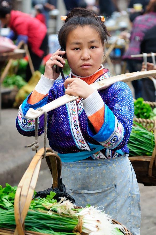 Vida de rua chinesa imagens de stock