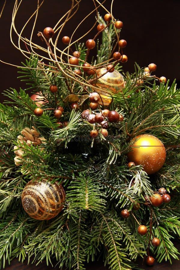 Vida del Año Nuevo y todavía de la Navidad imagen de archivo libre de regalías