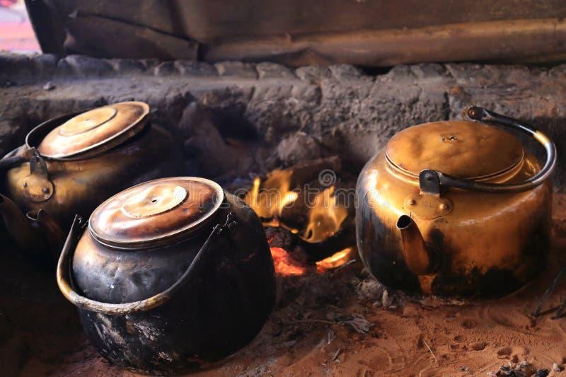 A vida do beduíno fotografia de stock