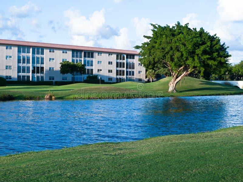 Vida do condomínio de Florida fotografia de stock royalty free