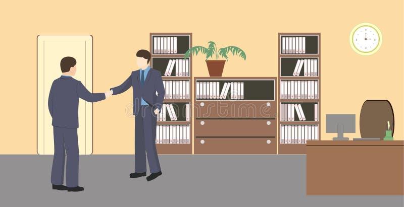 Vida do escritório ilustração do vetor
