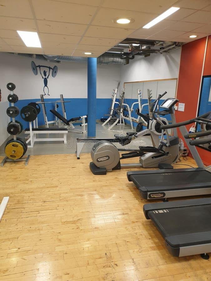 Vida do Gym foto de stock royalty free