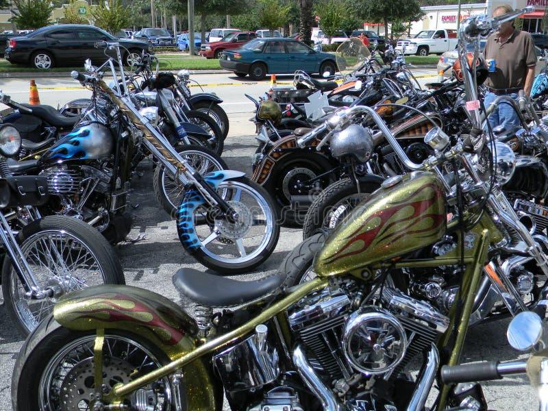 Vida do motociclista fotografia de stock royalty free