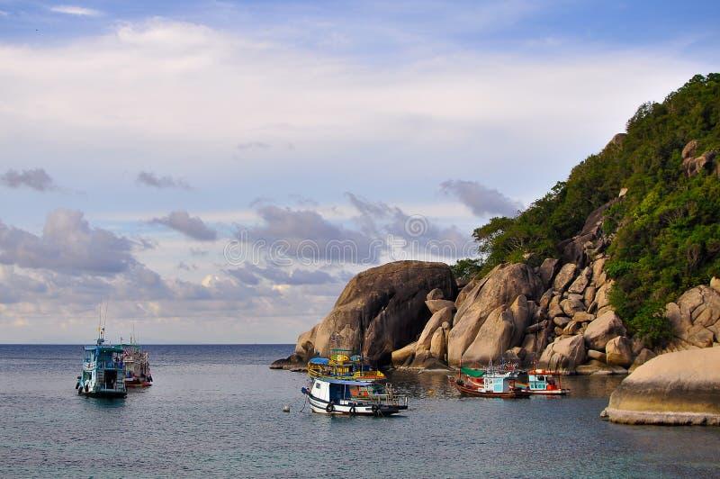 A vida dos pescadores imagens de stock royalty free