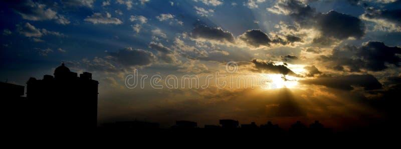 vida em Ghaziabad fotografia de stock royalty free