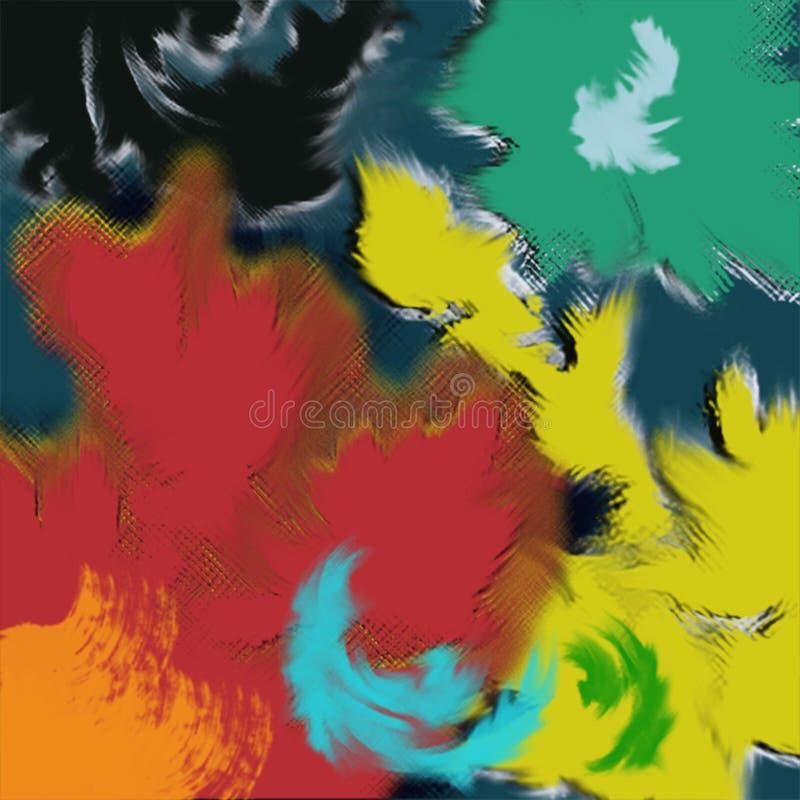 Vida en color stock de ilustración